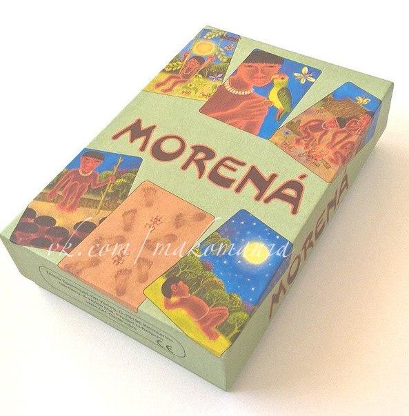 Morena (Морена),метафорические ассоциативные карты,купить МАК онлайн