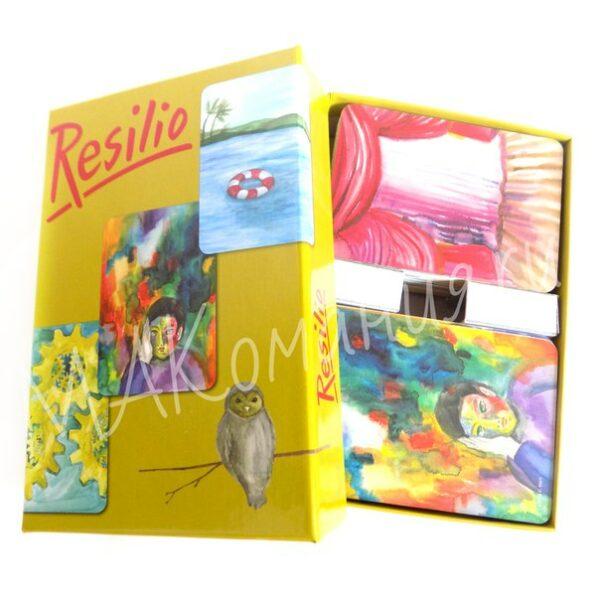 Resilio (Ресилио), Макомания, Метафорические ассоциативные карты, Купить МАК, интернет-магазин МАК