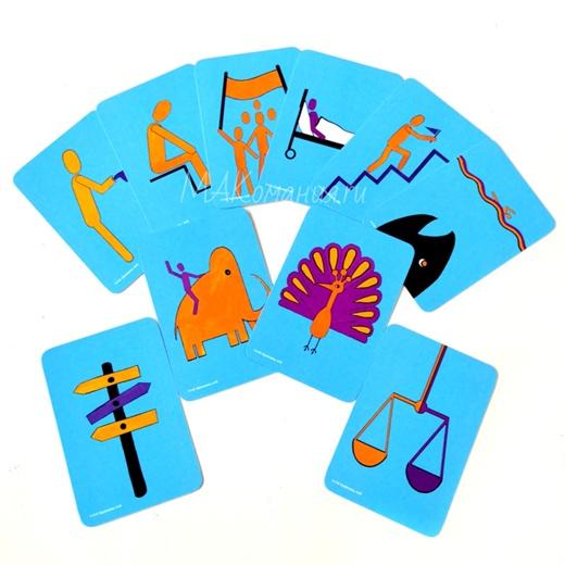 Пиктограммы, Макомания, метафорические карты, купить МАК, интернет-магазин МАК