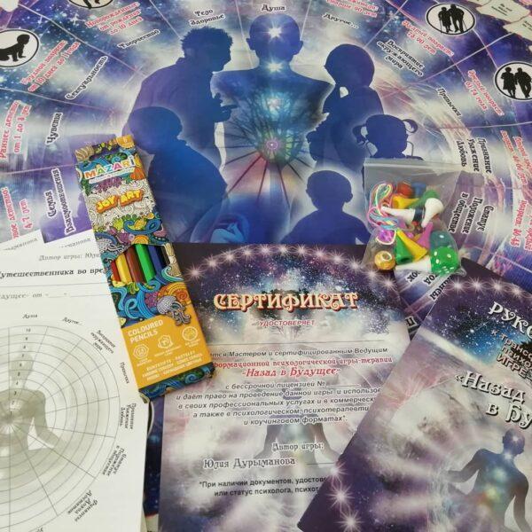 Назад в будущее, психологическая игра, Макомания, метафорические карты, интренет-магазин МАК, купить МАК