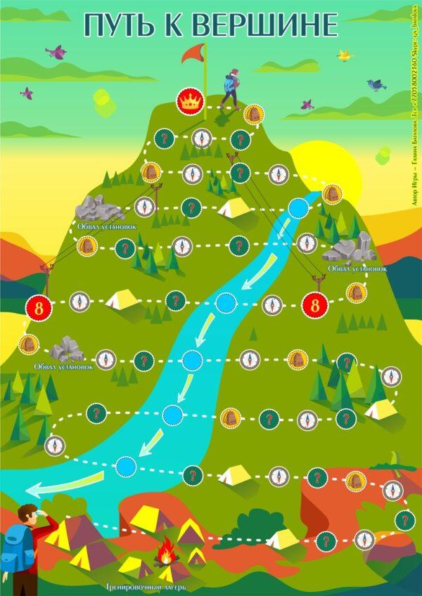 Путь к вершине, Макомания, психологическая игра, метафорические карты, интернет-магазин МАК