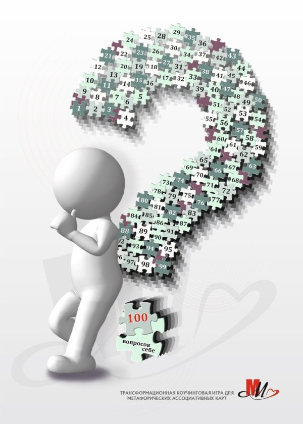 100 вопросов себе, Макомания, психологическая игра, метафорические карты, МАК, купить МАК