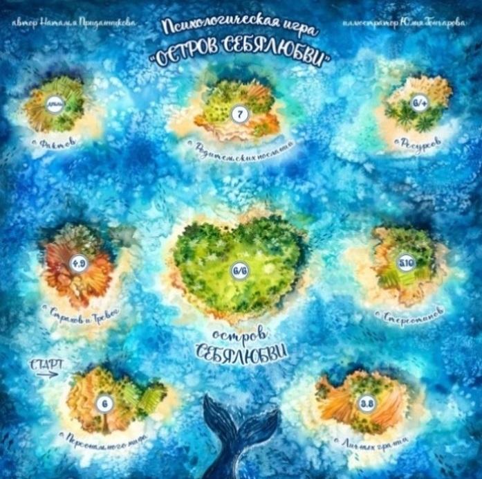 Остров СЕБЯЛЮБВИ, Макомания, психологическая игра, метафорические карты, интернет-магазин мак, купить мак