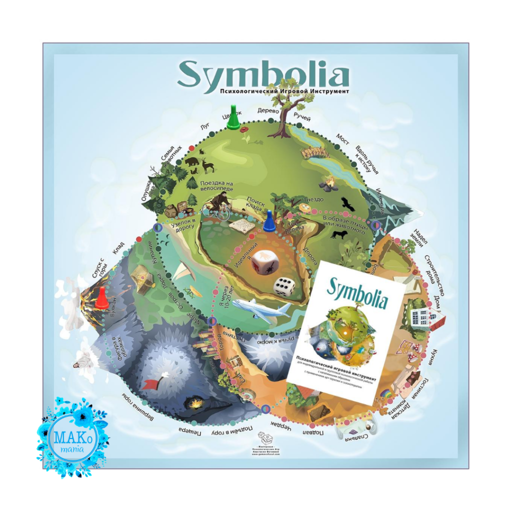 Symbolia, Макомания, психологическая игра, метафорические карты, МАК